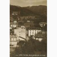 Открытка (ПК). Швейцария. Глион. Ко. Общий вид. 1914г. Лот 295