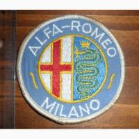 Нашива Alfa-Romeo Milano