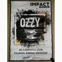 Плакат, афіша Ozzy Osbourne