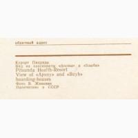Открытка (ПК). Пицунда. 1969 г. Лот 156