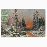 Почтовая карточка Всемирного почтового союза. 1907г. Лот 260