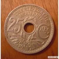 25 сантимес 1939 Фарция
