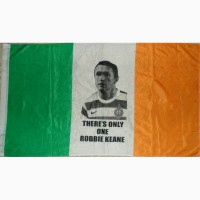 Прапор Ірландії з Robbie Keane