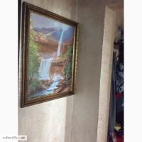 Картина вишита хрестиком Водоспад