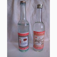 Водка СССР Столичная водка 1988-89 годы