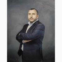 Мужские vip портреты на заказ в Киеве