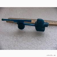 Модель вездехода с пушкой, старая, пластик, СССР