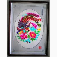 Продам китайскую картину ручной работы из бумаги