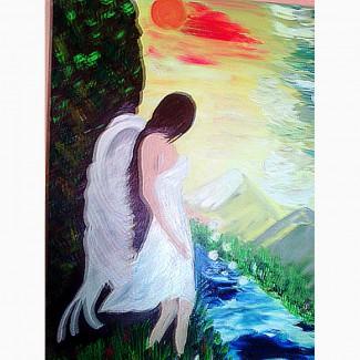 ГАРМОНІЯ 50Х70 авторська неординарна картина
