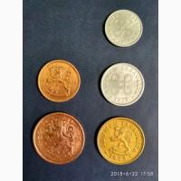 Продам монеты Финляндии, 1, 5, 10 пенни 1918, 1921, 1963, 1979 года