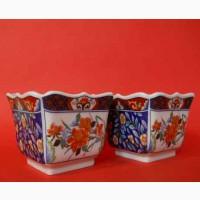 Винтажные Японские фарфоровые вазочки Imari