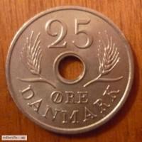 25 эре 1972 год Дания
