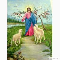 Картина маслом Иисус