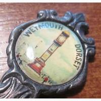 Ложка десертная коллекционная 115мм 16.06гр. Weymouth. Англия. Лот 17