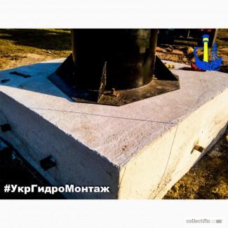Устройство фундамента под водонапорную башню РВС, РГС