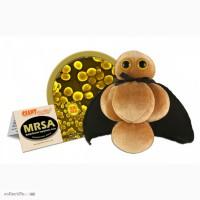 Мягкие Плюшевые Микробы GiantMicrobes MRSA Золотистый стафилококк