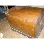 Старинный комод-сундук конец 19 века.