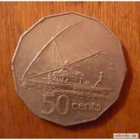 50 центов фиджи