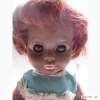 Кукла ГДР винил, негритянка