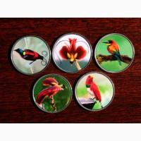 Набор монет Райские Птицы 2020