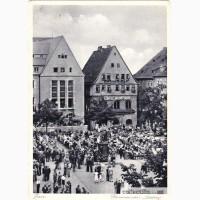 Открытка (почтовая карточка). 1937г. Германия. Йена. Лот 17