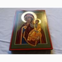 Икона Божией Матери «Отрада» («Утешение») Богородица Ватопедская