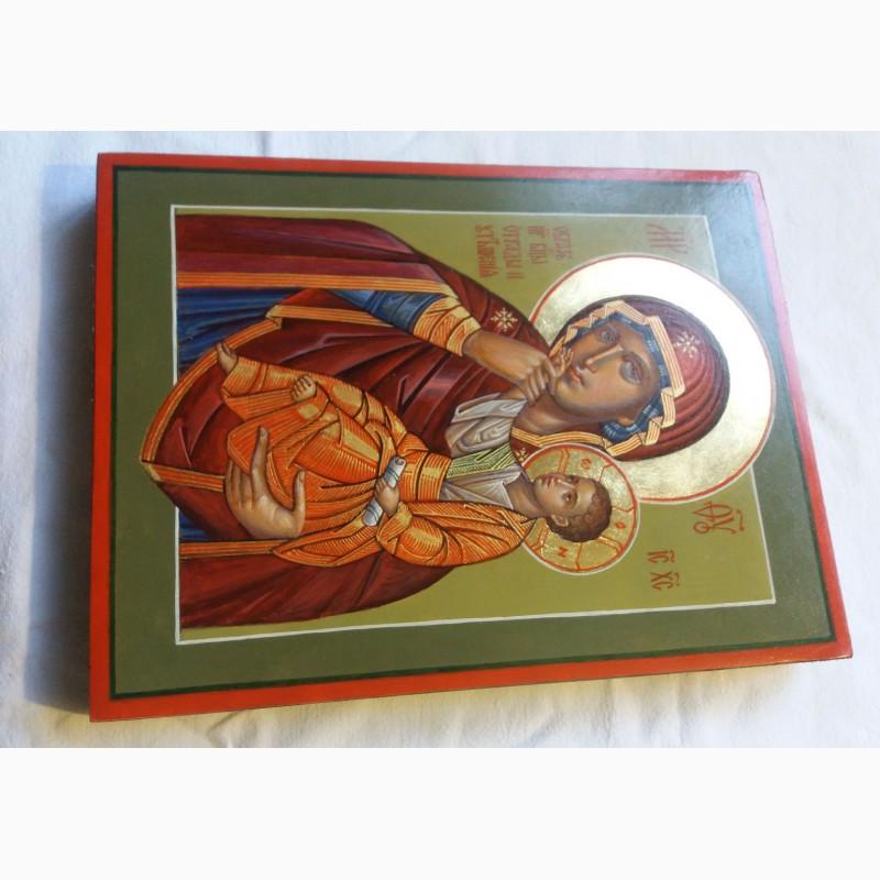 Фото 6. Икона Божией Матери «Отрада» («Утешение») Богородица Ватопедская