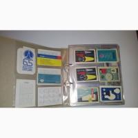 Коллекция календариков СССР и зарубежья - более 130 000 штук