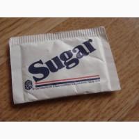 Пакетик с сахаром. Импорт