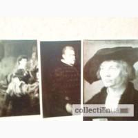Открытки. Выставка картин Дрезденской галереи. Комплект (12 шт.)