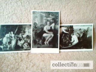 Фото 3. Открытки. Выставка картин Дрезденской галереи. Комплект (12 шт.)