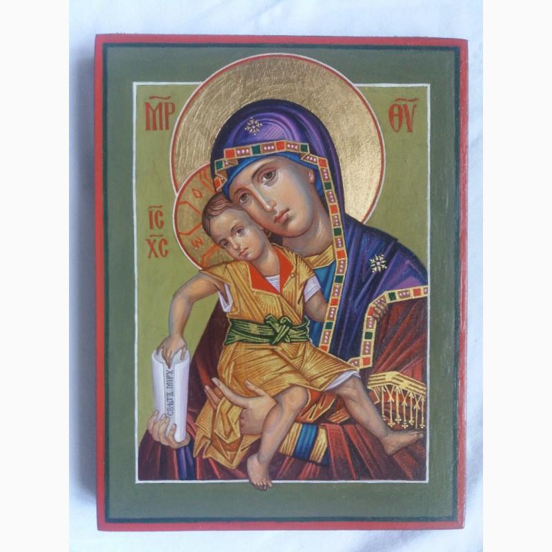 Фото 2. Икона Божией Матери Милостивая Богородица Киккская. «Достойно Есть»