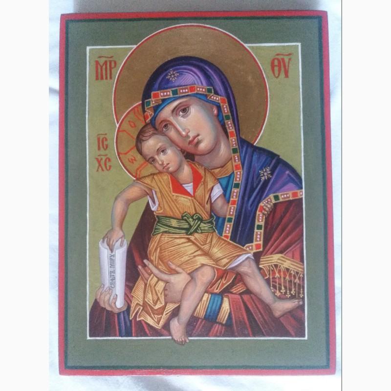 Фото 3. Икона Божией Матери Милостивая Богородица Киккская. «Достойно Есть»