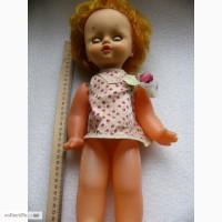 Кукла СССР, Горьковская ф-ка Мир, на резинках, редкая