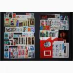 Вам в коллекцию почтовые марки СССР в альбомах. Годовые наборы с 1960-1991 год. Чистые