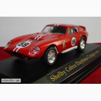 Модель Shelby Cobra Daytona Coupe 1965г. На подставке. 1:43
