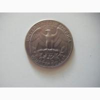 Продам монету - LIBERTI QVARTER dollar 1983 год