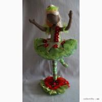 Интерьерная кукла Балерина Линда
