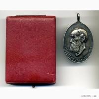 Памятная медаль к 100-ю Альфреда Круппа в футляре