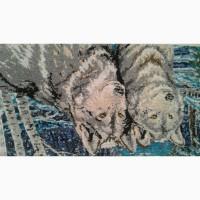 Картины вышитая бисером, ручной работы
