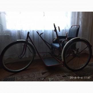 Велоколяска инвалидная, СССР