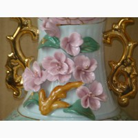 Продам новую антикварную декоративную керамическую вазу ссср 1964год высота-33см диаметр