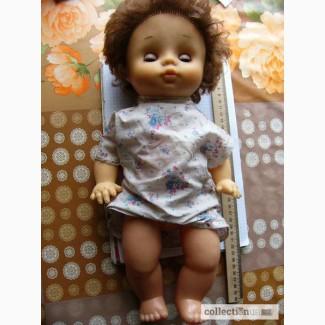 Кукла ГДР винил, говорящая 40см