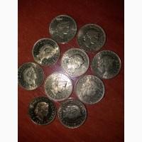 Погодовка монет 5 раппенов, Швейцария