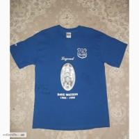 Футболка Dave Watson Legend Everton FC з автографами