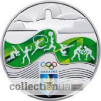 Монета Игры XXXI олимпиады