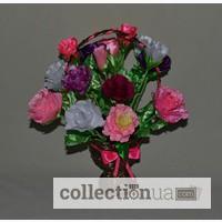 Интерьерные цветы Розы в корзинке