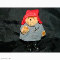 Винтажный Мишка Паддингтон Paddington Bear 1986 Eden Toys Made Koreа