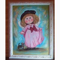 Милые и нежные картины для детей на подарок в детскую комнату