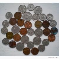 Мелочь США 1-5-10-25 центов